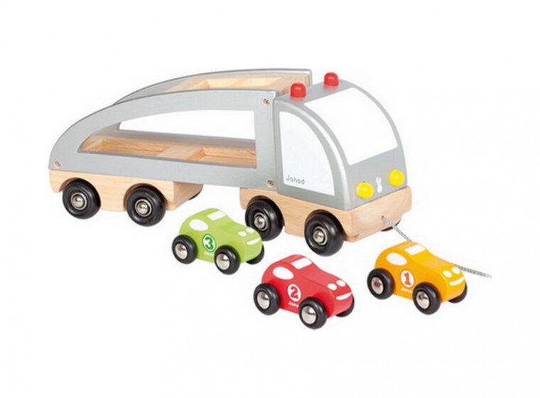 Het houten speelgoed van janod